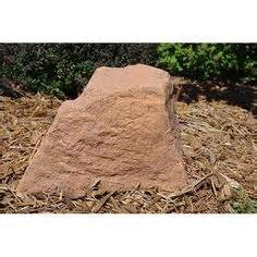 Landscape Rock Well Cover Artificial Rocks Covers On Septic Tank