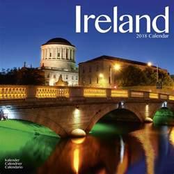 Calendar 2018 Ireland Ireland Calendar 2018 Pet Prints Inc