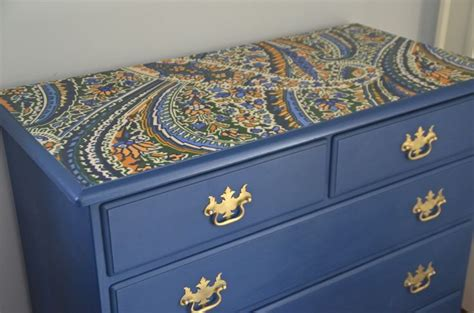 Fabric Decoupage Dresser - 17 best ideas about fabric dresser on cube