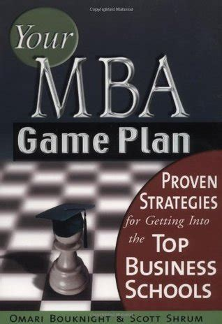 Best Strategy Mba Schools by Your Mba Plan Proven Strategies For Getting Into The
