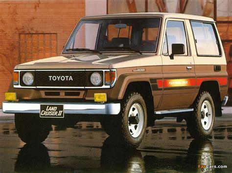 Toyota Landcruiser Ii Toyota Land Cruiser Ii Lj71 1985 90 Images 800x600