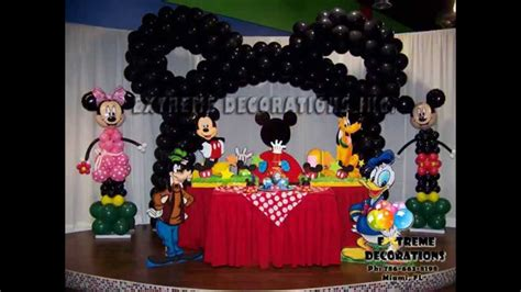 mickey mouse clubhouse centerpiece ideas creative mickey mouse clubhouse birthday decorations