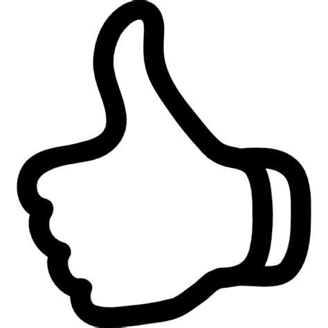 imagenes de dedo pulgar ok pulgar arriba s 237 mbolo de esquema descargar iconos gratis
