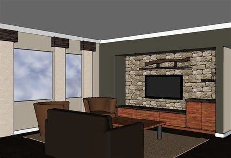 Living Room Tv Area Design Living Room Tv Entertainment Area