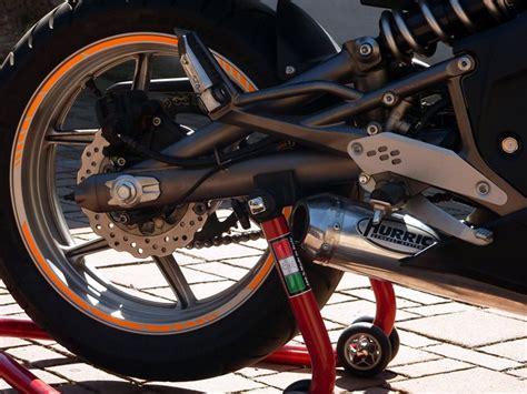 Motorrad Vinyls by Felgenrandaufkleber Motorrad Roller Auto 7mm Weiss Gp