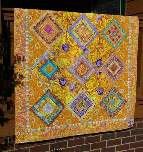Quilt Stores Near Me by Mellow Yellow Limoncello Quilt Made With Kaffe Fassett