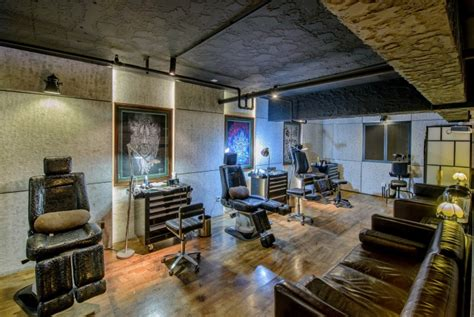 qg tattoo studio by archetype design studio chengdu
