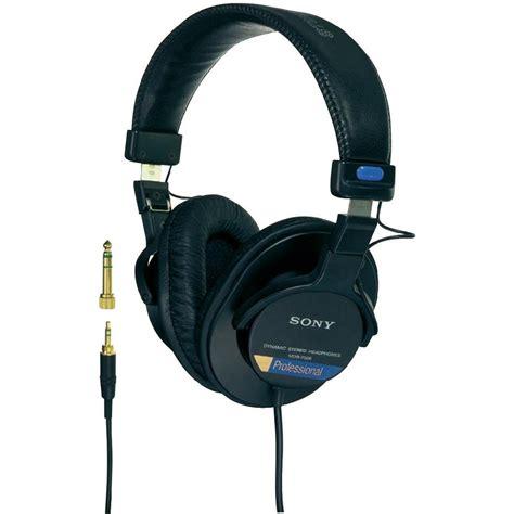 Headphone Studio studio headphone sony mdr 7506 the ear from conrad