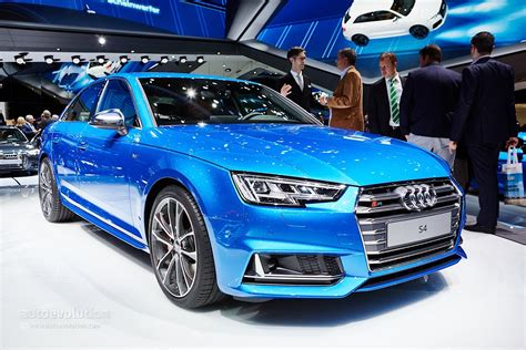 Neuer Audi S4 by 2016 Audi S4 Will Debut At The 2015 Iaa In Frankfurt