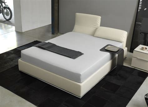 laguna leather bed king size beds go modern furniture