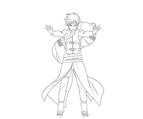 Naruto Gaara Coloring Pages   naruto gaara ability surfing