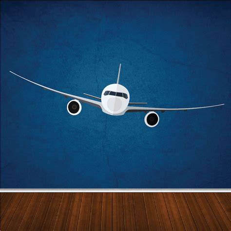 Airplane Wall Mural airplane wall mural decal wall decals primedecals