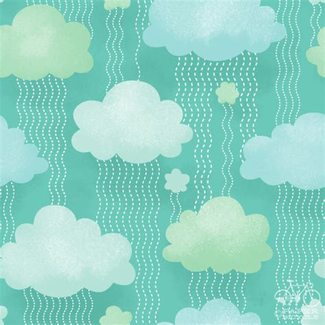cloud pattern tumblr paperbicycle daily pattern cloud party