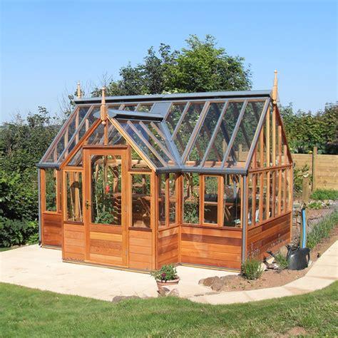 serre gabriel gabriel ash portico series greenhouse wood frame