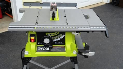 table saw ratings ryobi table saw review tools in power tool reviews
