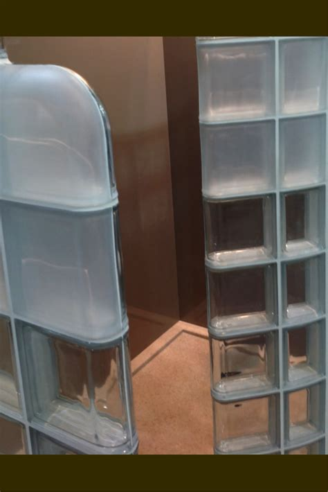 how to see through bathroom glass modern glass block shower system introduced at columbus