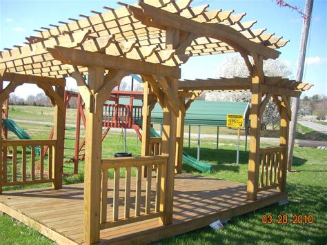 pergola swing set pergola swing sets images