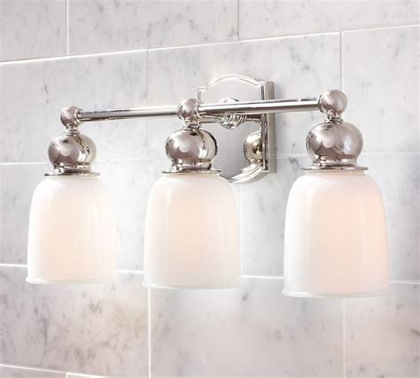 Pottery Barn Bathroom Lights by 17 Best Images About House On Pebble