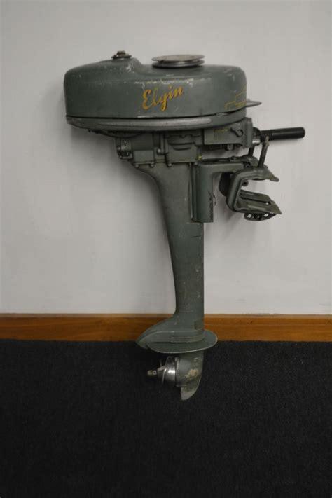 ebay motors vintage boats elgin boat motor vintage basement find
