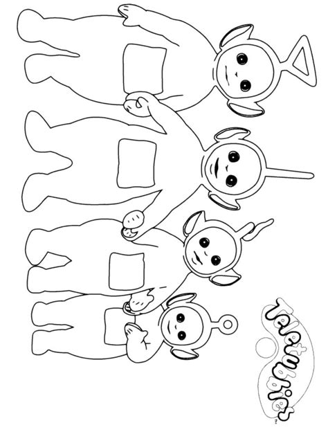 Teletubbies Coloring Pages by Teletubbies Coloring Pages 02