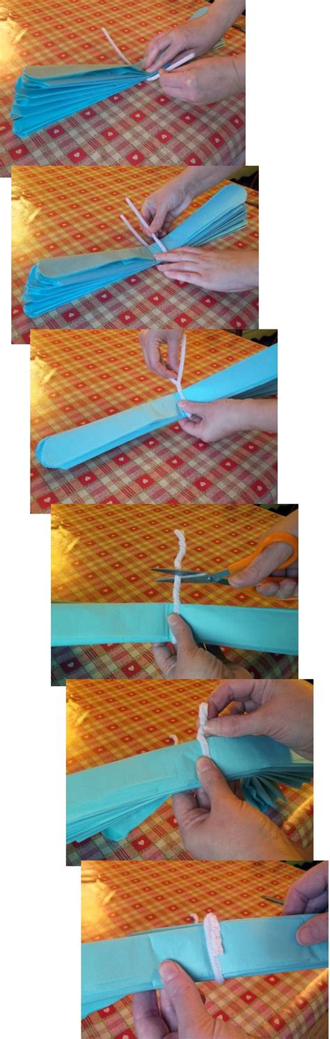Things With Tissue Paper - things to make and do tissue paper pom poms