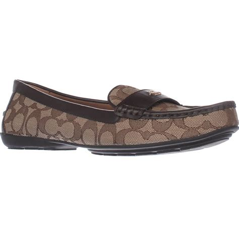 Coach Shoes Import 5 coach odette loafer flats lyst