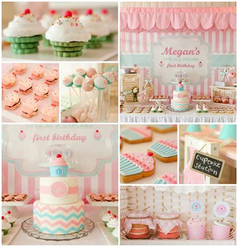 cute themes for birthday parties kara s party ideas cupcake shoppe party planning ideas