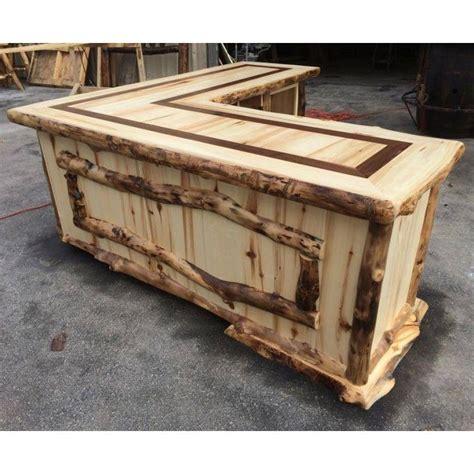 aspen home l shaped desk beaver creek aspen l shaped rustic desk aspen desks and