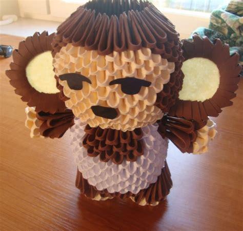 monkey album mindaugas 3d origami