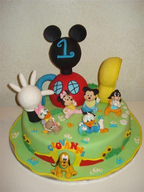 torta casa di topolino baby topolino le torte di mamy