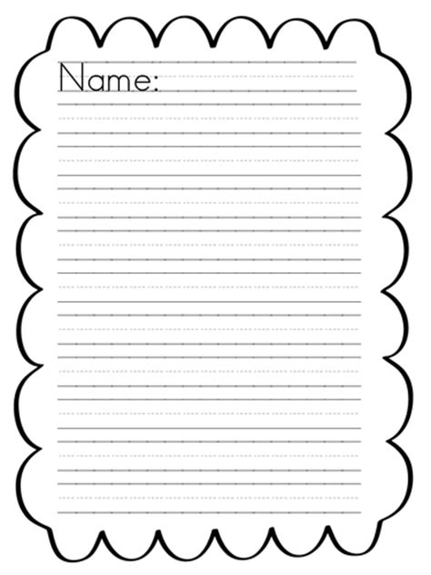 spooky writing paper spooky writing paper border by wendzd teaching