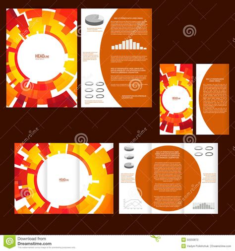 poster design kit business products option banners cartoon vector