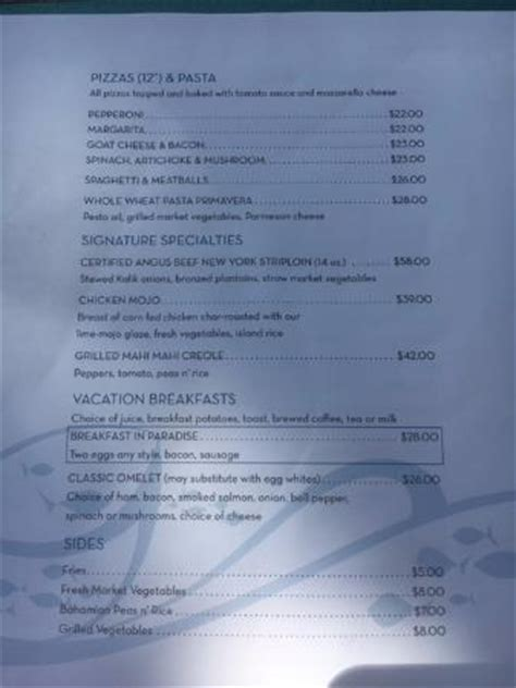 room service in paradise menu room service menu bild atlantis royal towers autograph collection paradise island