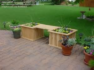 pdf diy cedar planter box bench plans cedar