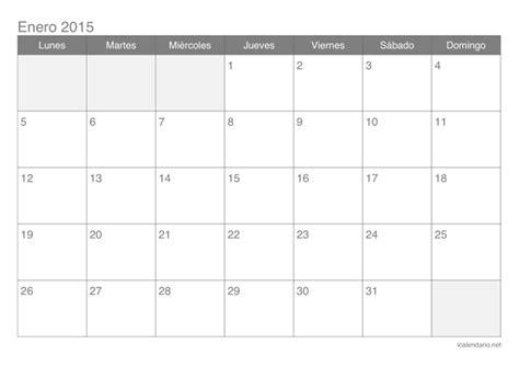 Calendario Colombia Año 2018 Calendario 2015 Para Imprimir Icalendario Net