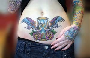 the meaning of a hourglass tattoo inkdoneright
