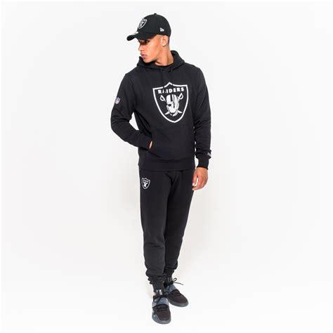 Sweater Hoodie Aw New Logo Black oakland raiders pullover team logo black hoodie new era