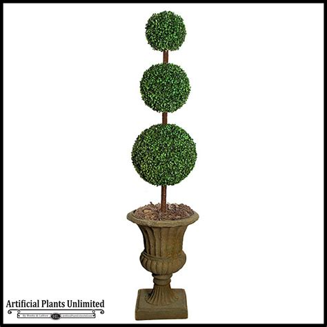 84in indoor boxwood topiary three tiers