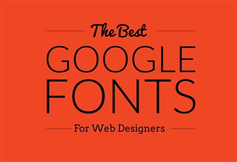 best web font 25 best web fonts for designers 2018 designorbital
