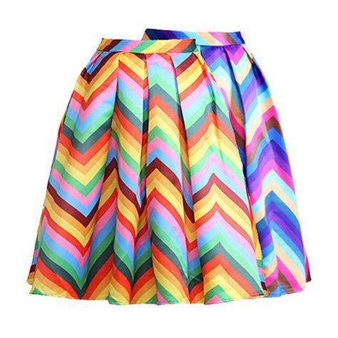 Rok Stripes Pelangi Rainbow Maxi Skirt new 2016 summer skirt rainbow striped midi skirt fashion saia skirts