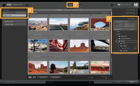 lightroom tutorial import easily import photos adobe photoshop lightroom cc tutorials