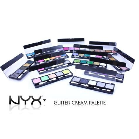 Nyx Glitter Palette almeida make up deusa nyx
