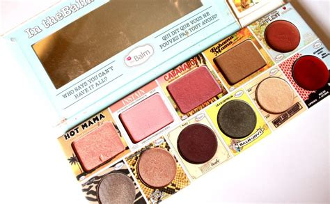 The Balm In Thebalm Of Your in the balm of your palette review swatches