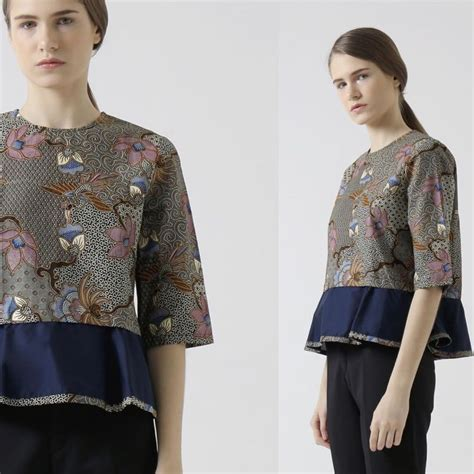 Baju Blouse Atasan Back Blus Kekinian Simpel Casual Polos mulai dari ngus sai kencan inilah 9 ide baju batik yang bisa membuatmu lebih dilirik