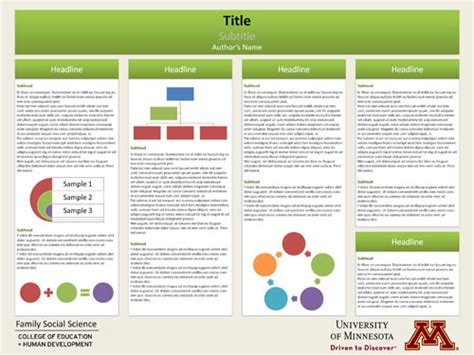 free templates free powerpoint templates for poster design p d