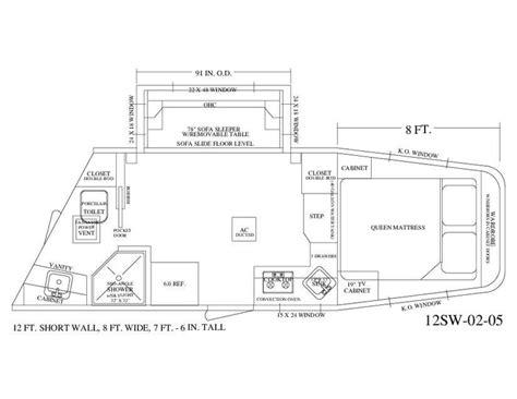 horse trailer floor plans 1000 images about living quarter floor plans on pinterest