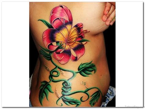 rib flower tattoo designs 47 ravishing rib tattoos