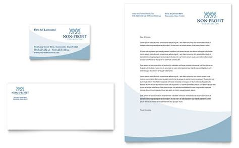 nonprofit business card templates community non profit letterhead templates non profit