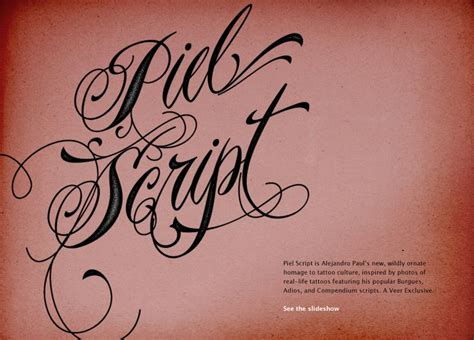 tattoo font making i think it is impossible for alejandro paul to create a