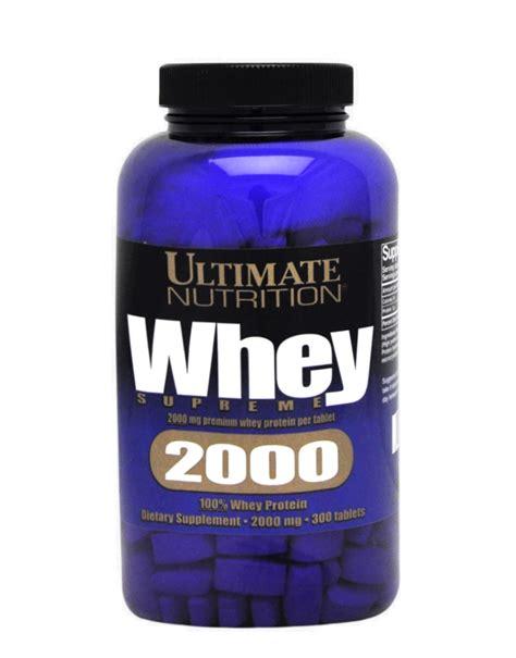 ultimate nutrition whey supreme whey supreme 2000 de ultimate nutrition 300 tabletas
